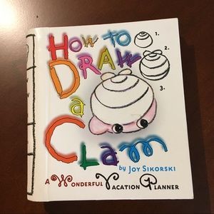 Other - 🌟2/25$ How to draw a clam drawing activity book
